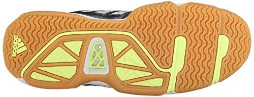 Adidas Performance Volley Assault Shoe, noir / argent / congelé jaune, 5 M Us Black/Silver/Frozen Yellow
