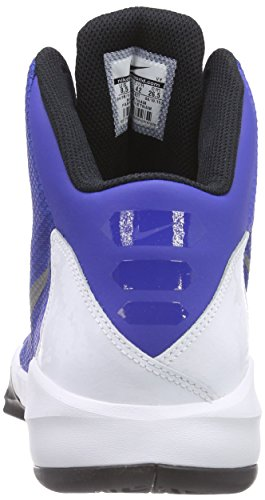Nike Zoom Without A Doubt, Chaussures de Basketball homme Bleu - Blau (Game Royal/Reflective Silver/White/Black)
