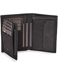 DONBOLSO® Wien I große Geldbörse aus Leder für Herren mit RFID-Schutz