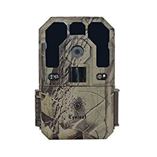 Eyeleaf Hunting Camera (12MP) HD 1080P Infrared Game Trail Camera 850nm or 940nm Waterproof Security Camera