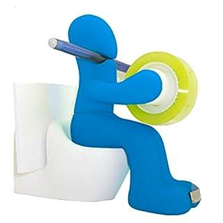 1 Satz Klebeband-Abroller Pen Memo-Halter-Klipp Speicher Set Büromaterial Schreibtisch-Accessoires