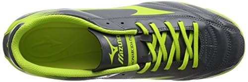 Mizuno Monarcida Neo As, Chaussures de Football Homme Gris (Dark Shadow/lime Punch)