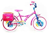 "Reset Bicicletta per Ragazza 20"" Pop Sunrise Rosa e Bianca"