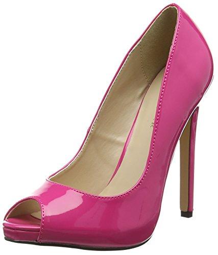 Pleaser Sexy-42 Damen Pumps Pink (Pink (H. Pink Pat))