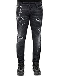 Dsquared2 Regular Clement Skinny fit Destroyed - Distressed Denim Jeans be0aab629cc1