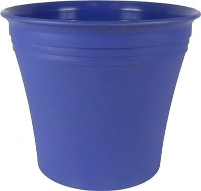 Übertopf Michele 25 azurblau von PP - Du und dein Garten