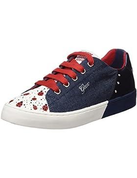 Geox Jr Ciak D, Zapatillas Para Niñas