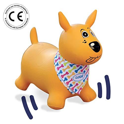 Ludi Juegos de hábil idad Mi Perro Saltarín Amarillo 2778