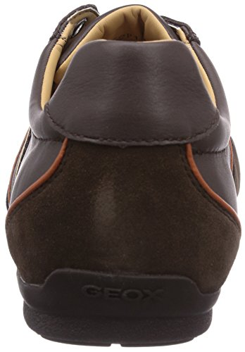 Geox U Houston A, Baskets mode homme Marron (Coffee/Chestnut)