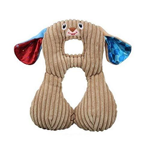 Hemore Baby Reisekissen für Neugeborene Baby Reisekissen Baby Nackenstützkissen für Kleinkinder Autositz zum Schutz des Babykopfes Hund Gesundheit Baby Pflege