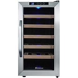 Kalamera Kr 18Ass acciaio Frigo 48 litro bottiglia 18 frigo autoportante zone di temperatura 818