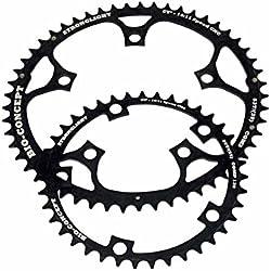 Stronglight 275.351 - Kit platos ovalados de ciclismo