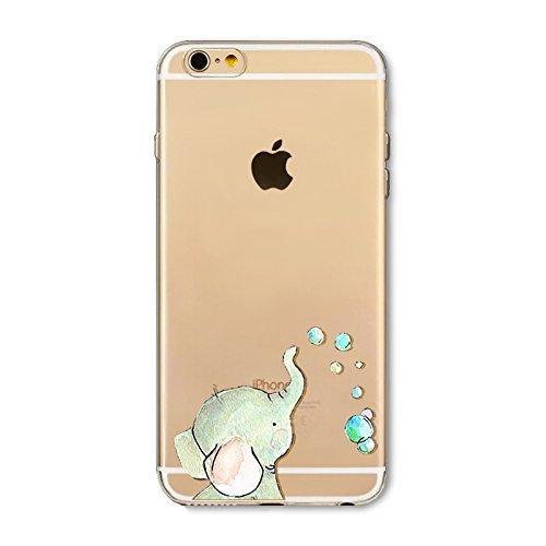 Cover Per iPhone 5S/SE,Hippolo Custodia Protettiva Shell Case Cover Per iPhone 5S/SE in Silicone TPU (Per iPhone 5S/SE, 9) 14