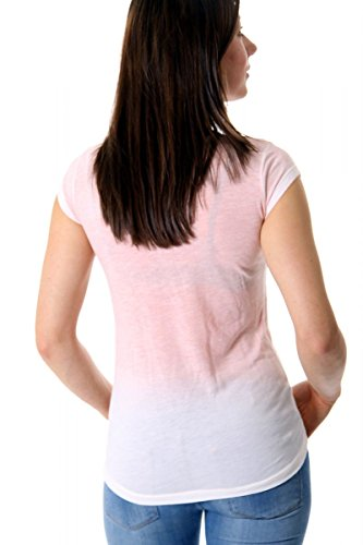 KEY LARGO Damen T-Shirt Rosa