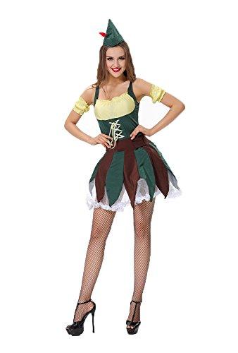 Sexy Robin Hood Kostüm *NEU* Fasching Karneval Gr. 36/38 Verkleidung (Kostüm Robin Film)