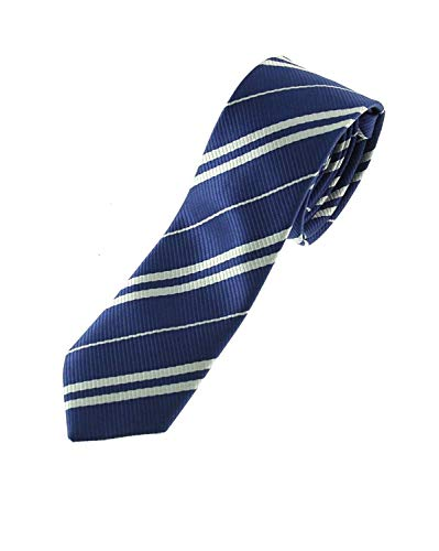 Zac's Alter Ego® Wizards Tie For Fancy Dress, School Uniform, World Book Day (Navy ()