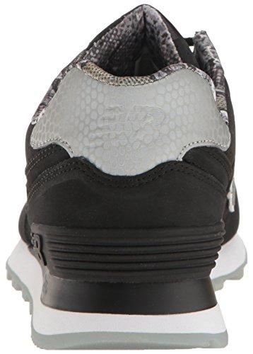 New Balance Wl574, Bottes Classiques Femme Black/black