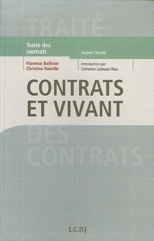 Contrats et vivant : Le droit de la circulation des ressources biologiques de Florence Bellivier (1 mars 2006) Broch