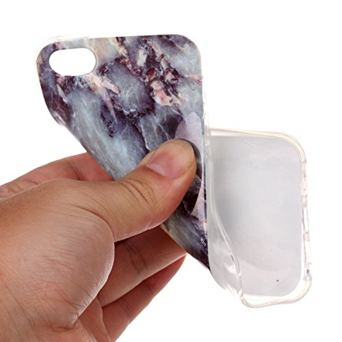 Valenth iPhone 5S SE Case Soft TPU Marble Back Case Cover for iPhone 5S SE 5# 1#