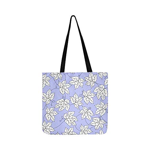 Grüne traubenblätter mosaik leinwand tote handtasche umhängetasche crossbody taschen geldbörsen für männer und frauen einkaufen tote -