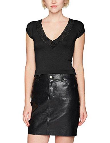 Morgan Damen T-Shirt Dtag.n Schwarz (Noir) Large (Herstellergröße: TL) -