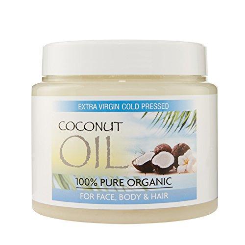 Olio di cocco vergine per capelli Olio di cocco extra...