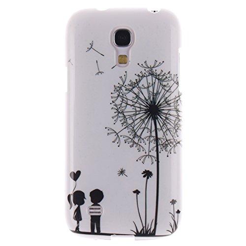 Nancen Samsung Galaxy S4 Mini I9190 I9195 (4,3 Zoll) Ultra Slim Weich TPU Material Design Silikon Handytasche Schutzhülle, Painted Mode Anti-Kratz Handyhülle Case Hülle Backcover Tasche