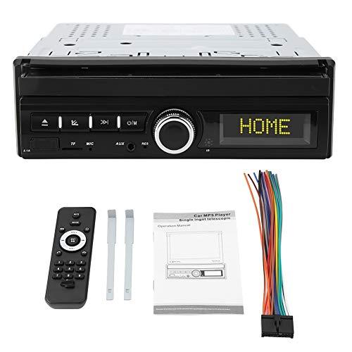 Outbit Auto-Spieler - 1 PC von 7 Zoll Universal-Auto-MP5-Player Audio Stereo einziehbarer Bildschirm 2.1A Schnellladung (ohne Kamera und mit Kamera) (Größe : Without Camera)