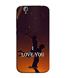 PrintVisa Designer Back Case Cover for Acer Liquid Z630 :: Acer Liquid Zade Z630S (I Love You Girlfriend BoyFriend Romantic)