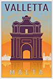 Postereck - Poster 1883 - Valletta Plakat, Malta