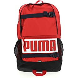 Puma Deck Backpack, Unisex Adulto, Ribbon Red, OSFA