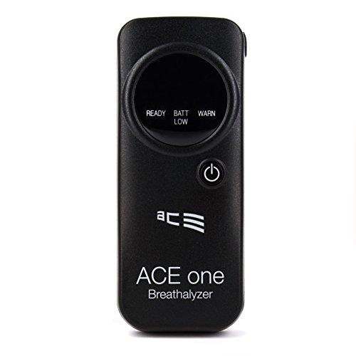 Preisvergleich Produktbild ACE Alkoholtester one, TU-Wien-Messgenauigkeit: 98,60% - Polizeigenau (schwarz)