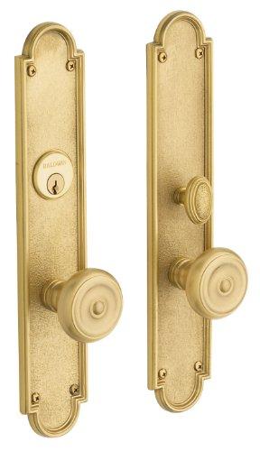 Baldwin 6541. Entr San Francisco Single Zylinder Einsteckschloss Handleset Feinbau-Set, Öl eingerieben Bronze - Bronze Keyed Baldwin Hardware