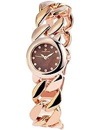 Reloj analógico Timento, de metal, diámetro de 27 mm, colour rosa - 510037000015