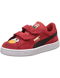 Puma Sesame Street Suede Elmo Scarpe Sneakers Pelle Scanosciata per Bambini 7cfcddce5af
