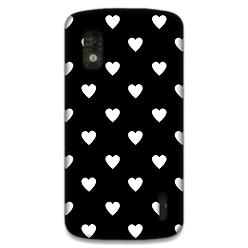 The Racoon Lean printed designer hard back mobile phone case cover for LG Nexus 4. (Ebony and)  available at amazon for Rs.99
