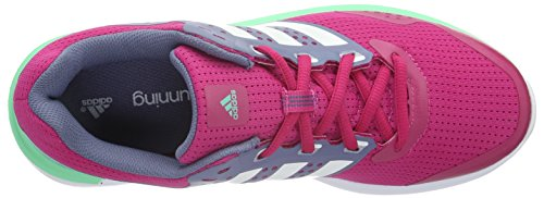 Adidas - Duramo 7, Sneakers da donna Multicolore (Rosa / Blanco / Morado (Eqtros / Ftwbla / Morsup))