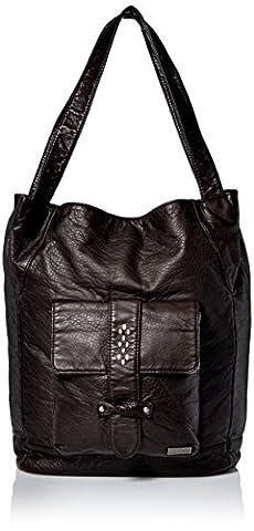 Roxy Frauen-Fork In The Bay Messenger Bag, O/S, True Black