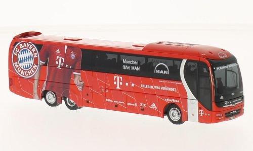 Preisvergleich Produktbild MAN Lions Coach L Supreme, FC Bayern München, 2016, Modellauto, Fertigmodell, Rietze 1:87