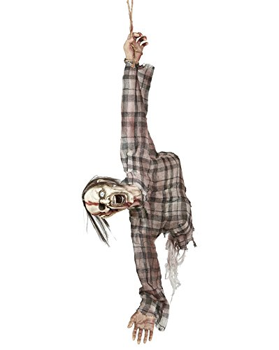 Widmann 01405 - Zerrissener Zombie Oberkörper zum Hängen, Größe Circa 92 cm