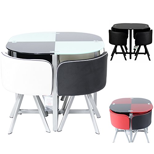 Retro Dining Table and Chairs: Amazon.co.uk