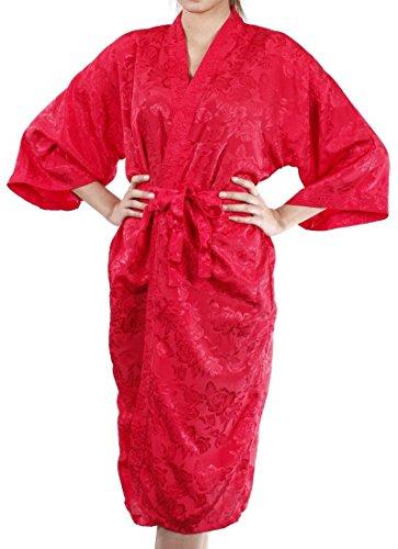 Lofbaz Frauen Bequeme Verschleierung Handtuch Morgenmantel Design #12 Rot