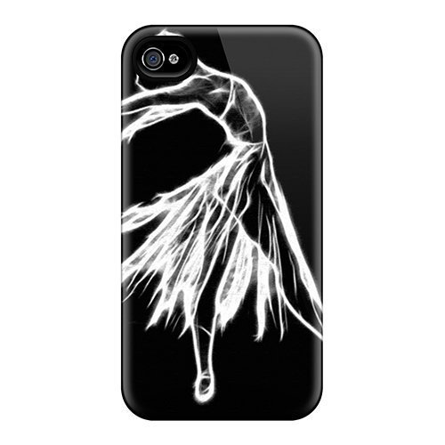 New Snap-on Grace'sFavor Skin Case Cover Compatible With Iphone 4/4s- Ballerina