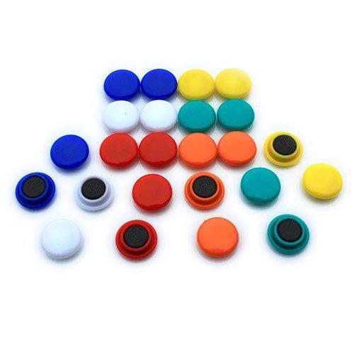 Magnet Expert® Petit planification / avis planche aimants, assorti, (1 paquet de 24)