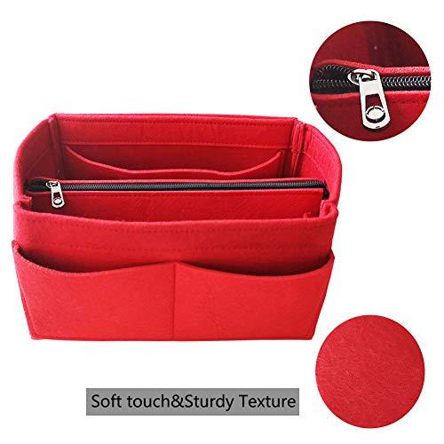 12c561b3b1 Apsoonsell Feltro Organizer Borsa Donna, Bag in Bag Organizzatore Interno  Purse Per Borsetta Cosmetici Borsa