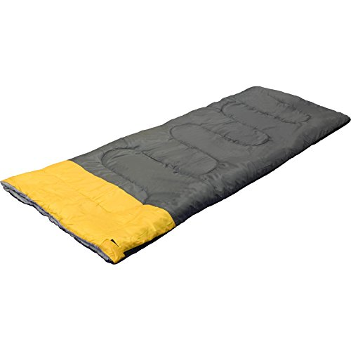 Warenhandel König Jugend Kinder Sommer Schlafsack Schlafdecke Camping Zelten Outdoor Zelten +8 bis +25 °C (Farbe grau-gelb)