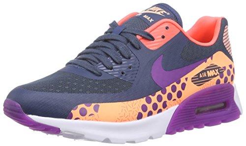 Nike W Air Max 90 Ultra Br Print Damen Sneakers Blau