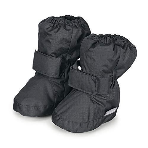 Sterntaler Jungen Baby Stiefel mit Klettverschluss, Farbe: Eisengrau, Größe: 21/22, Alter: 18-24 Monate, Artikel-Nr.: 5101510 -