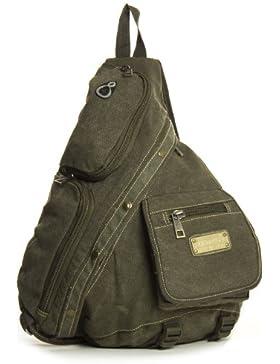 Big Handbag Shop , Damen Rucksackhandtasche One