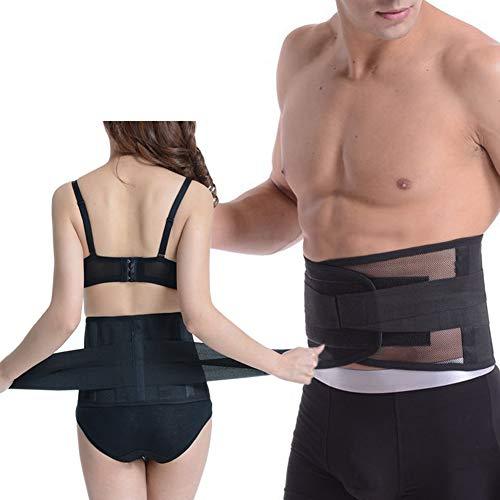 Paskyee Rückenstütze Verstellbarer Gürtel für Frauen, Männer, SI-Gelenkschmerzlinderung, SI-Klammer zur Unte (XL) -